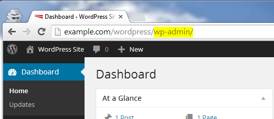 Wp-Admin Access Allowed After Using Secret Url